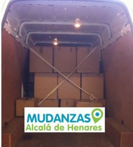 Furgonetas para mudanzas Alcalá de Henares