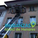 Mudanzas con elevador Alcalá de Henares Madrid