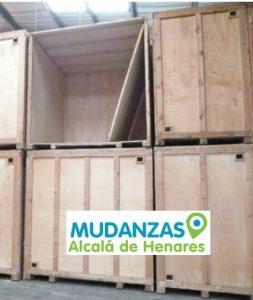 Mudanzas guardamuebles Alcalá de Henares