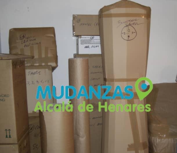Mudanzas oficinas Alcalá de Henares