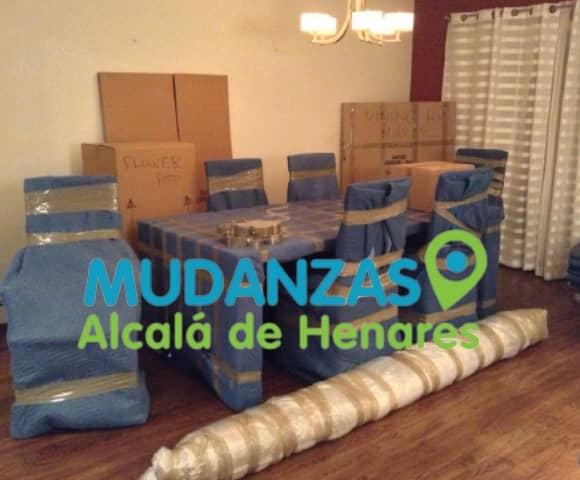 Mudanzas pisos Alcalá de Henares