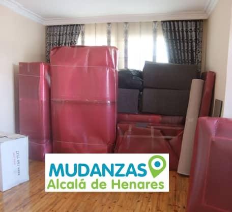 Transportes mudanzas Alcalá de Henares