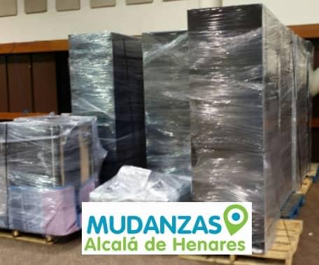 Traslado de oficinas Alcalá de Henares Madrid